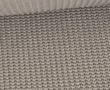 Weicher Seemanns Strick - Strickstoff - Baumwolle - Uni - Taupe Hell