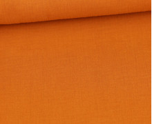 Musselin Lotta - Muslin - Uni - Double Gauze - 130gr - Schnuffeltuch - Windeltuch - Orange
