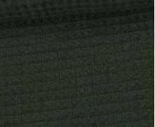 Waffel Piqué - Baumwolle - Tannengrün