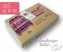 SEW ME BOX - Ugly Christmas Sweater - Nähset - Sparkle - Gr. 80-104 - Hamburger Liebe