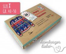 SEW ME BOX - Ugly Christmas Sweater - Nähset - Holy Moly - Gr. 40-50 - Hamburger Liebe