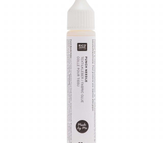 1 Textilkleber - Punch Needle - 30g - Flasche - Rico Design