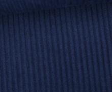 Cord - Breitcord - Uni - Nachtblau