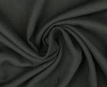 Viskose Blusenstoff - Elastisch - Uni - Schwarz