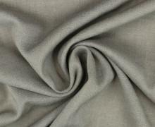 Viskose Blusenstoff - Elastisch - Uni - Grau