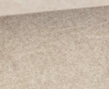 Bio-Baumwoll Fleece - Uni - Melange - Beige