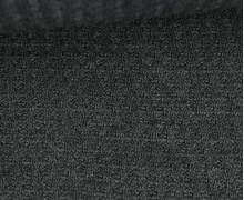 Waffelstrick - Strickstoff - Uni - Dunkelgrau Meliert