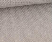 Weicher Waffel Frottee - Baumwolle - Uni - Taupe Hell