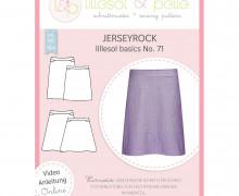 Schnittmuster - Jerseyrock lillesol basics No. 71 - lillesol&pelle.