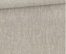 Baumwolle - Leinen - Uni - 160g - Sand