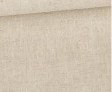 Baumwolle - Leinen - Uni - 160g - Beige