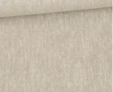 Baumwolle - Leinen - Feines Rautenmuster - 160g - Beige