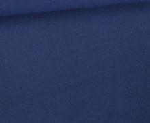 Tencel - Modal - Uni - Nachtblau