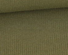 Viskose Strickstoff - Uni - Olivgrün