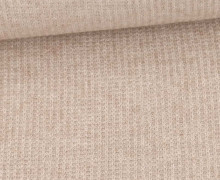Viskose Strickstoff - Uni - Beige