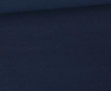 Jersey Smutje - Uni  - 150cm - Schwarzblau