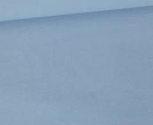 Jersey Smutje - Uni  - 150cm - Taubenblau