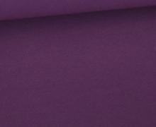 Jersey Smutje - Uni  - 150cm - Lila Dunkel