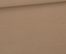 Jersey Smutje - Uni  - 150cm - Beige Dunkel