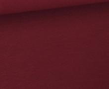 Jersey Smutje - Uni  - 150cm - Weinrot Dunkel
