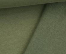 Kuschelsweat Light - Uni - Grün - Sweat Angeraut