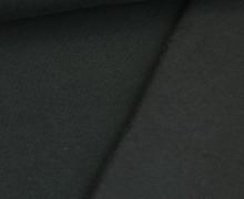 Kuschelsweat Light - Uni - Schwarz - Sweat Angeraut
