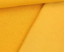 Kuschelsweat Light - Uni - Maisgelb - Sweat Angeraut