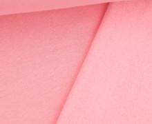 Kuschelsweat Light - Uni - Rosa - Sweat Angeraut