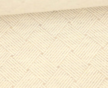Bio-Elastic Minijacquard Jersey - 3D - Weave Knit - Plain Stitches - Warmweiß/Beige - Hamburger Liebe