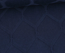 Bio-Strickstoff - Cross Over Knitty - Plain Stitches - Schwarzblau - Hamburger Liebe