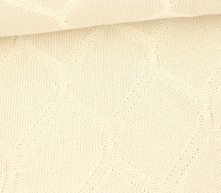 Bio-Strickstoff - Cross Over Knitty - Plain Stitches - Warmweiß - Hamburger Liebe
