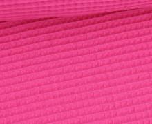 Waffel Piqué - Baumwolle - 275g - Pink