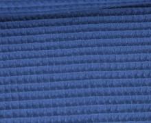 Waffel Piqué - Baumwolle - 275g - Blau