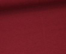 Jersey Smutje - Uni  - 150cm - Weinrot