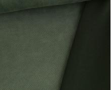 Samt - Scuba - Uni - Bi-Elastisch - Tannengrün