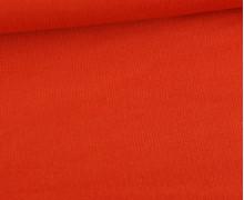 Stretchcord - Feincord - elastischer Babycord - Uni - Orangerot
