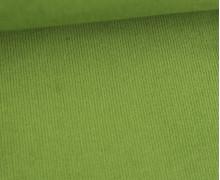 Stretchcord - Feincord - elastischer Babycord - Uni - Farngrün