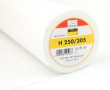1 Meter Vlieseline - H 250/305 - Freudenberg - Weiß - 90cm