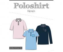 Schnittmuster - Poloshirt - Herren - 2XS bis 4XL - Fadenkäfer
