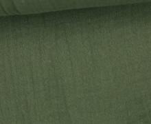 Musselin Bambino - Muslin - Uni - Schnuffeltuch - Windeltuch - Dunkelgrün