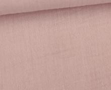 Musselin - Muslin - Uni - Schnuffeltuch - Windeltuch - 150g - Altrosa