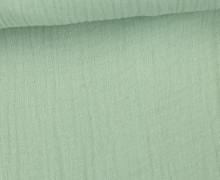 Musselin - Muslin - Uni - Schnuffeltuch - Windeltuch - 150g - Lichtgrün Hell