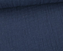 Musselin - Muslin - Uni - Schnuffeltuch - Windeltuch - 150g - Nachtblau