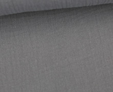 Musselin - Muslin - Uni - Schnuffeltuch - Windeltuch - 150g - Grau