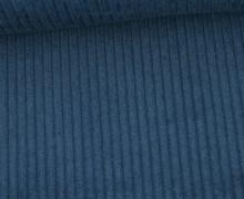 Cord - Breitcord - Uni - Azurblau