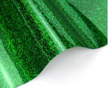 A4 Holographie Flex - Bügelfolie - Grün