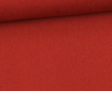 Stretchcord - Feincord - elastischer Babycord - Uni - Rostrot