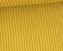 Hipster Bündchen Fiete - Rippen - Uni - Schlauchware - Ockergelb