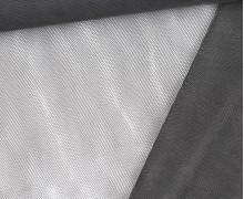 Feiner Tüllstoff - Weich - Uni - Dunkelgrau