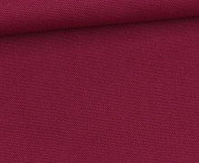 Canvas Stoff - feste Baumwolle - Uni - Beere Dunkel
